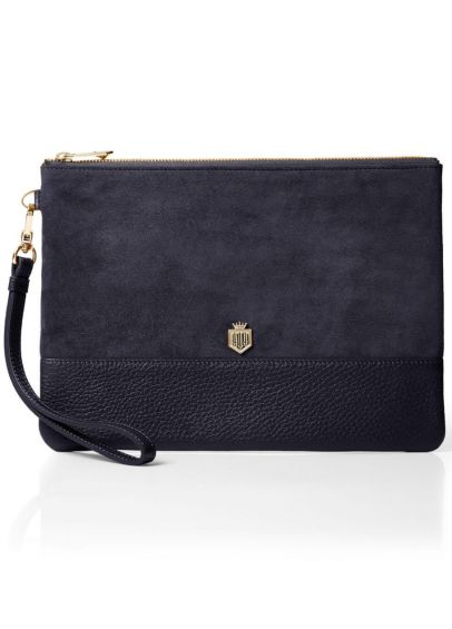 Fairfax & Favor Highbury Clutch Bag - Navy