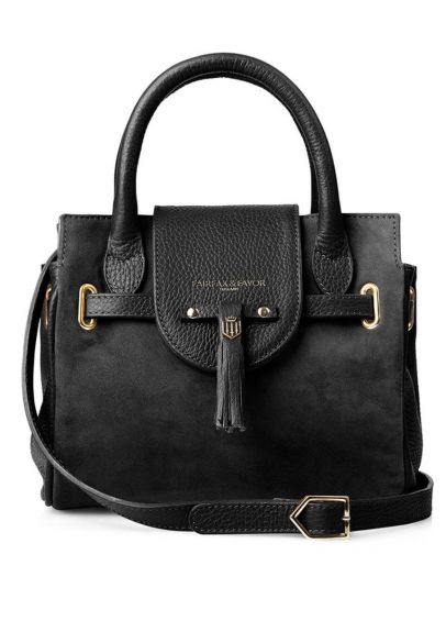 Fairfax & Favor Mini Windsor Handbag - Black