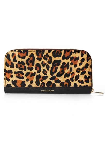 Fairfax & Favor Salisbury Purse - Jaguar