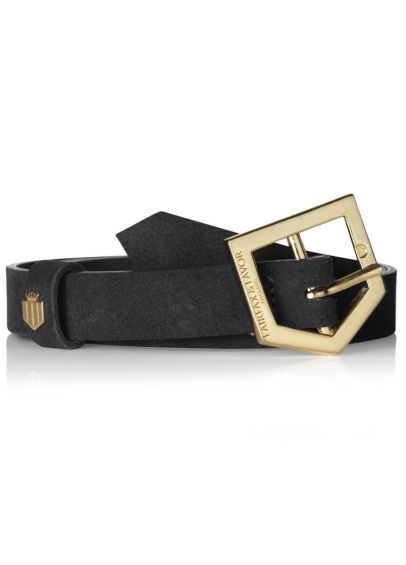 Fairfax & Favor Sennowe Suede Belt - Black
