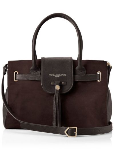 Fairfax & Favor Windsor Handbag - Chocolate
