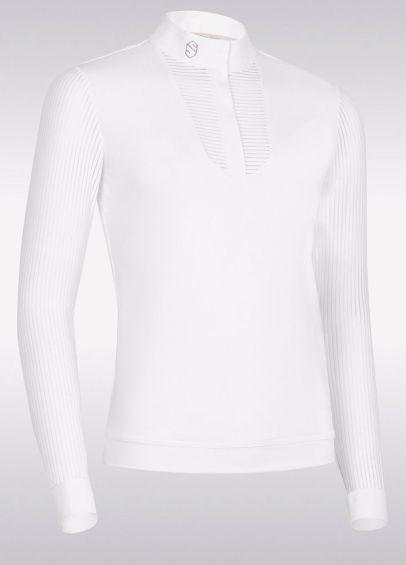 Samshield Ladies Faustine Competition Shirt - White