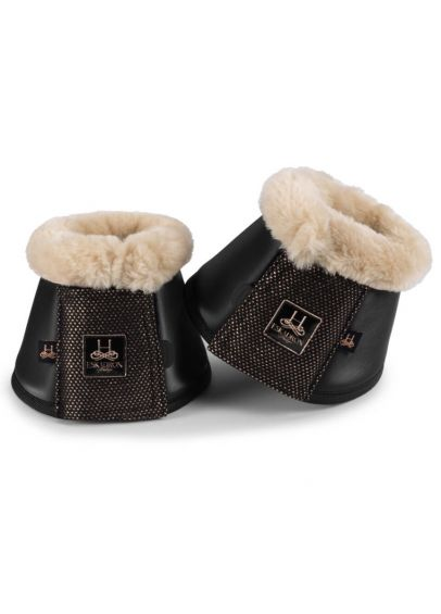 Eskadron Heritage Faux Fur Bell Boots - Black