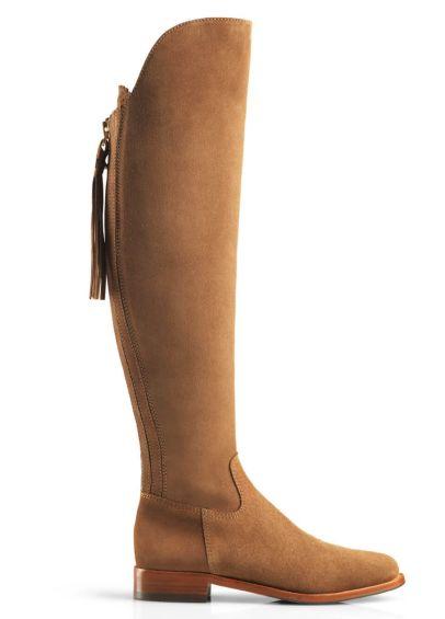 Fairfax & Favor Flat Amira Boot - Tan