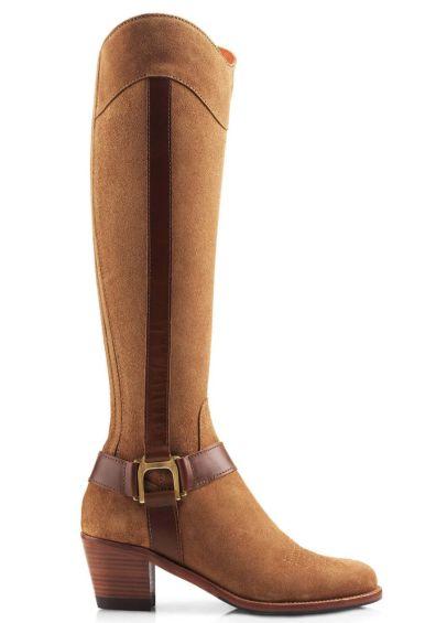 Fairfax & Favor Burnham Suede Boot - Tan