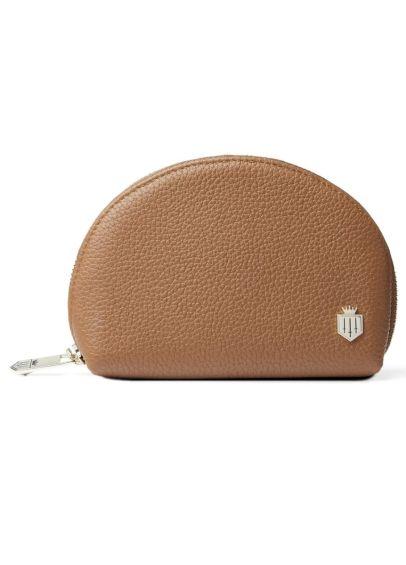 Fairfax & Favor Chiltern Leather Coin Purse - Tan