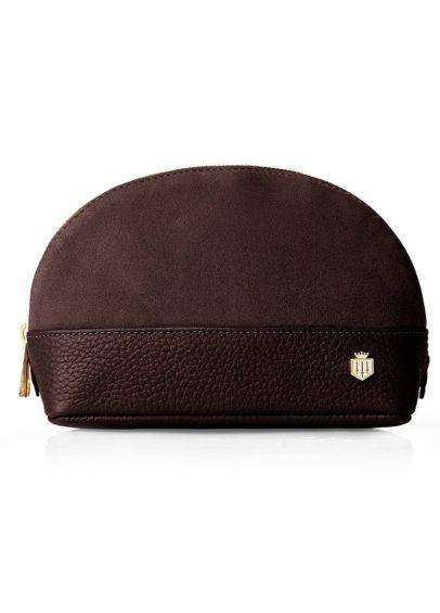Fairfax & Favor Chiltern Cosmetic Bag - Chocolate