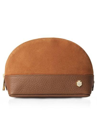 Fairfax & Favor Chiltern Cosmetic Bag - Tan