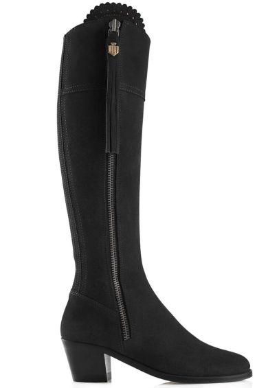 Fairfax & Favor Heeled Regina Boot - Black