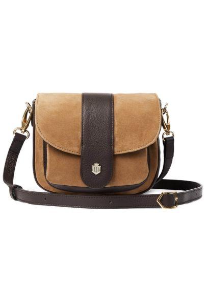 Fairfax & Favor Highcliffe Saddle Bag - Tan