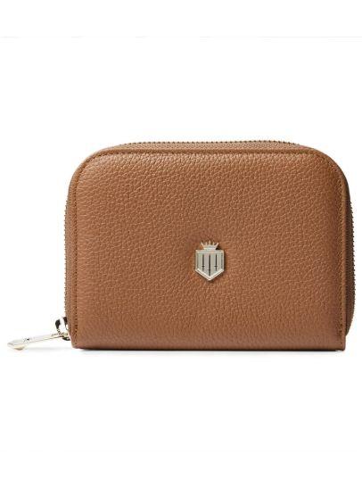 Fairfax & Favor Mini Salisbury Leather Purse - Tan