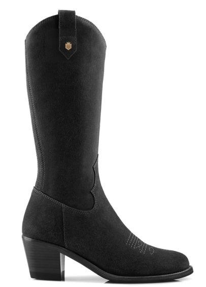 Fairfax & Favor Rockingham Mid Calf Boot - Black