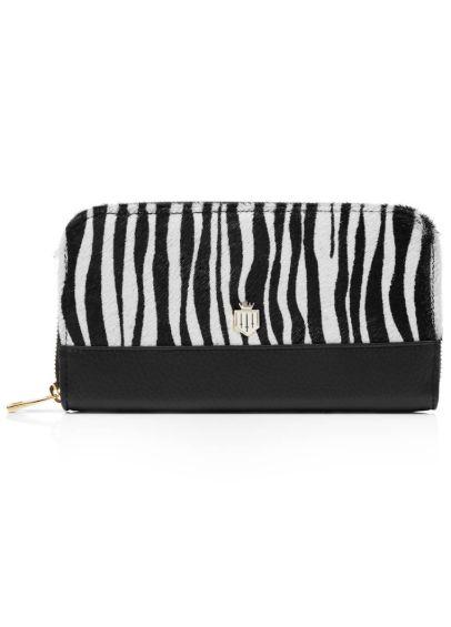 Fairfax & Favor Salisbury Purse - Zebra