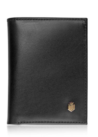 Fairfax & Favor Walpole Leather Wallet - Black