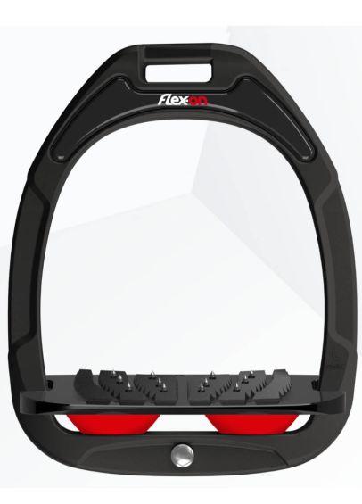 Flex-On Green Composite Stirrups - Black/Red