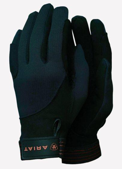 Ariat Insulated Tek Grip Gloves - Black/Orange