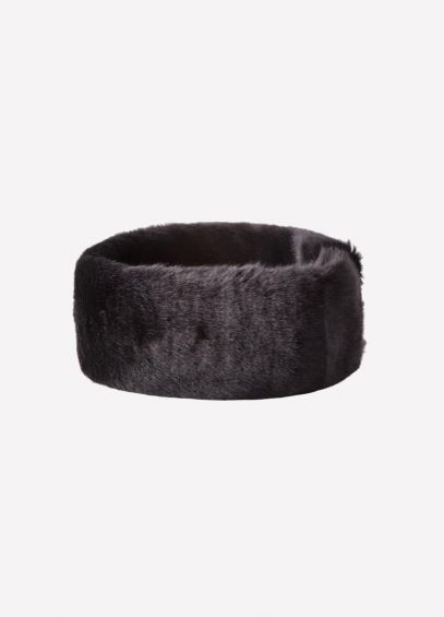 Dubarry Fur Headband - Black