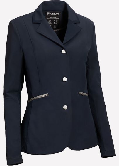 Ariat Galatea Show Jacket - Navy