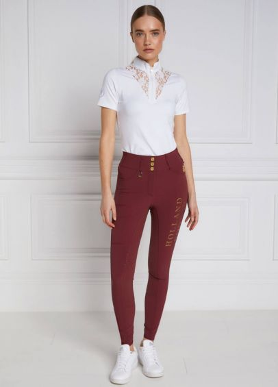Holland Cooper Ascot Breeches - Burgundy