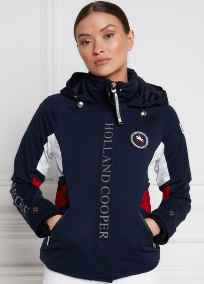 Holland Cooper Carberry Training Jacket - Ink Navy