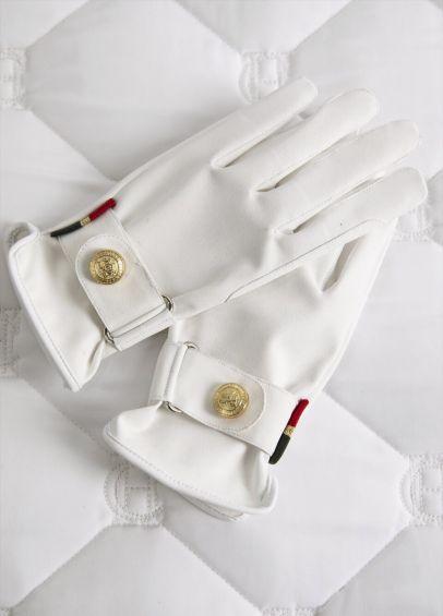 Holland Cooper Riding Glove - White
