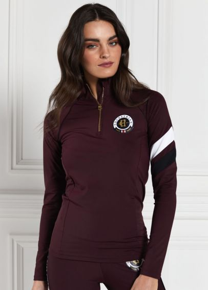 Holland Cooper Heritage Sport Base Layer - Mulberry