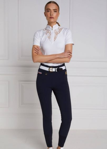 Holland Cooper Hickstead Breeches - Ink Navy