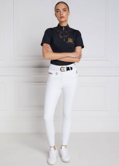 Holland Cooper Hickstead Breeches - White