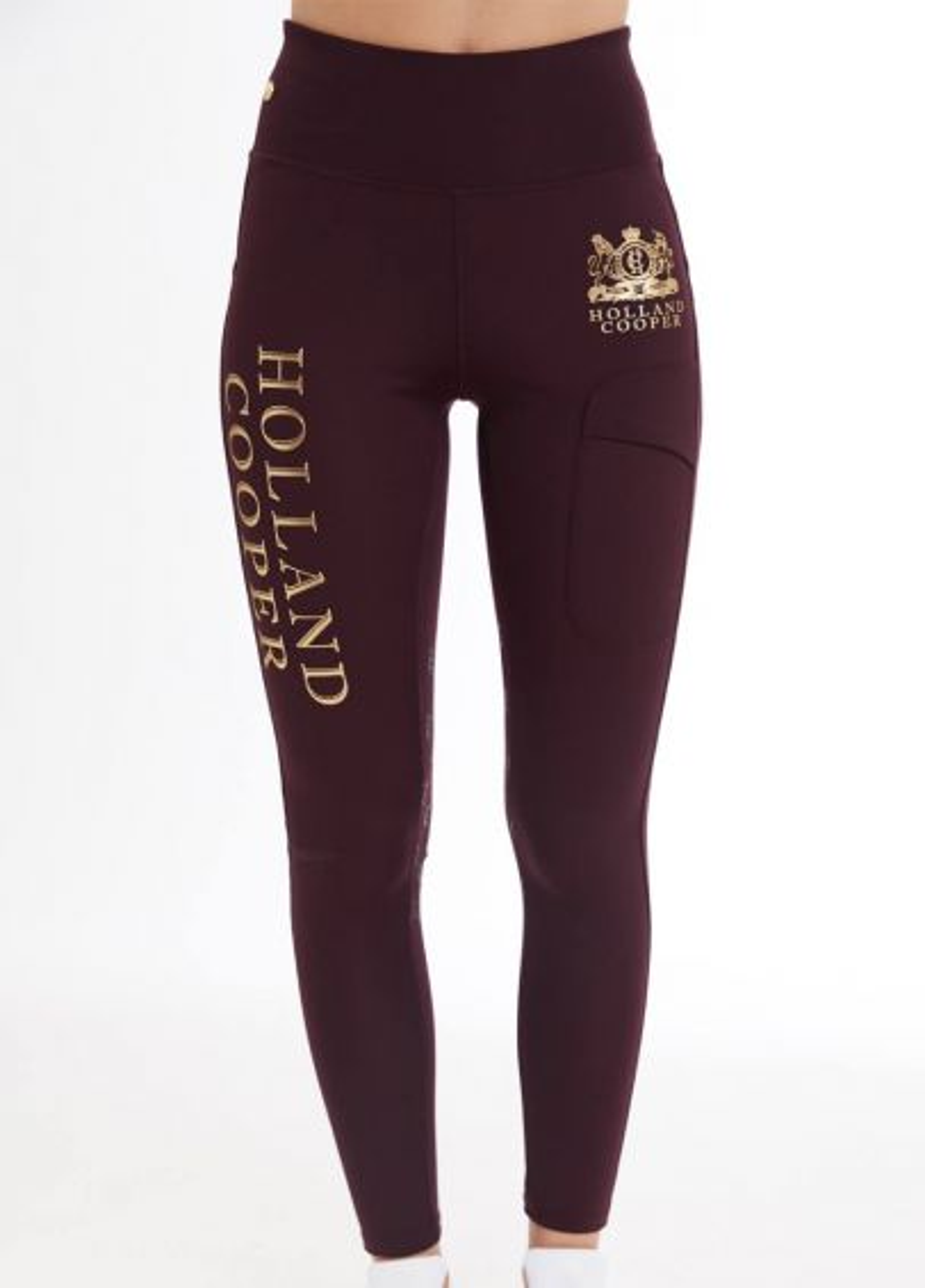 Holland Cooper Sport Legging - Mulberry