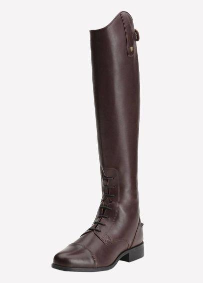 Ariat Womens Heritage Contour Field Zip Long Boot - Sienna