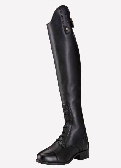 Ariat NEW Heritage Contour II Field Zip Boots - Black