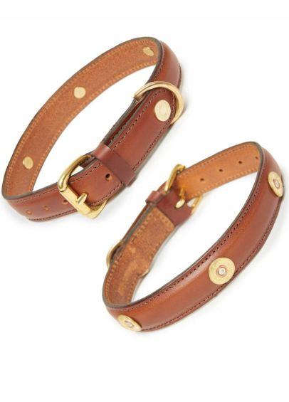 Hicks & Hides Laverton Field Dog Collar - Cognac