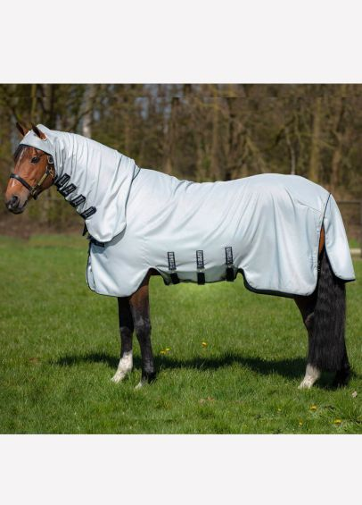 Horseware Rambo Hoody Rug - Grey/Beige