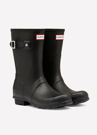 Hunter Original Short Wellingtons - Black
