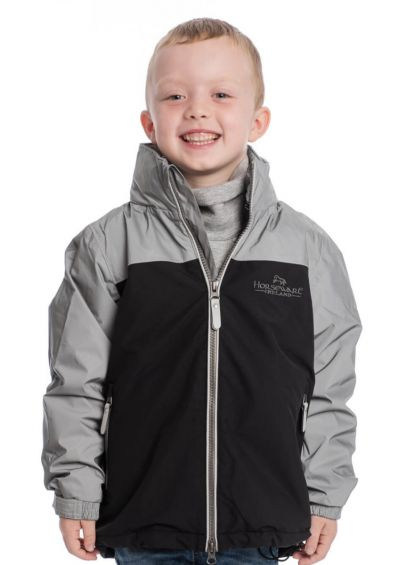 Horseware Kids Reflective Corrib Jacket - Reflective Grey