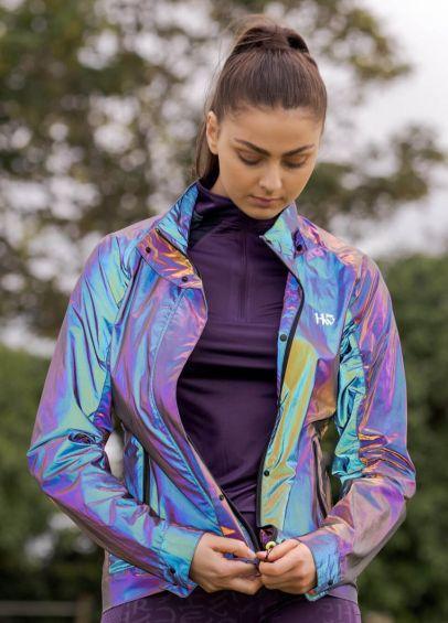 Horseware Rainbow Reflective Jacket - Purple