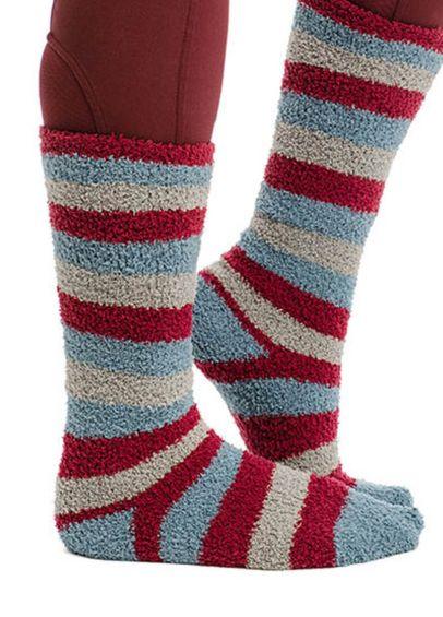Horseware Softie Socks - Winter Oceans Stripe