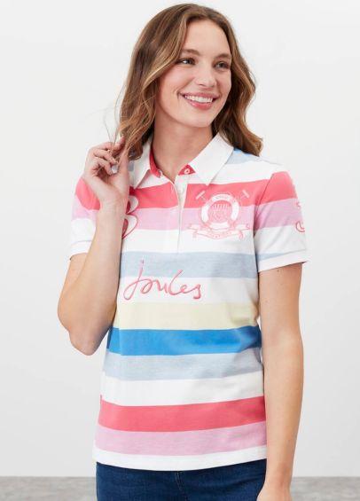 Joules Beaufort Beach Polo Shirt - Multi Stripe