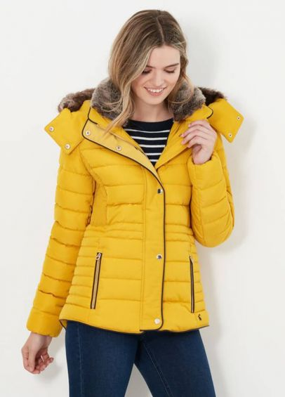 Joules Gosway Jacket - Antique Gold