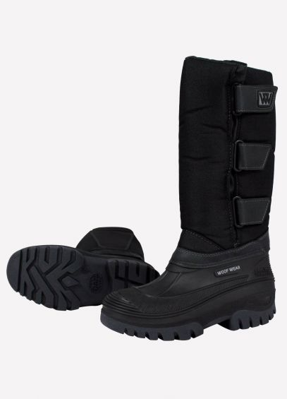 Woof Wear Junior Long Boots - Black