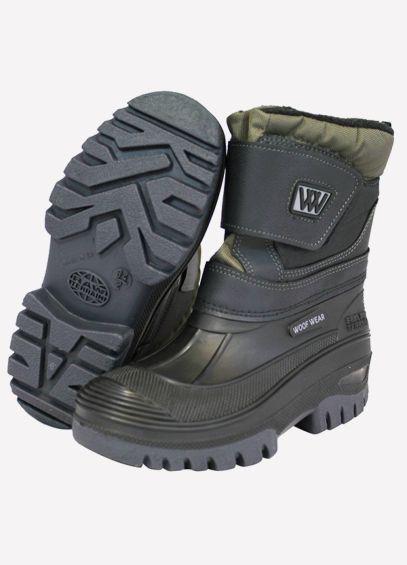 Woof Wear Junior Short Boots - Black