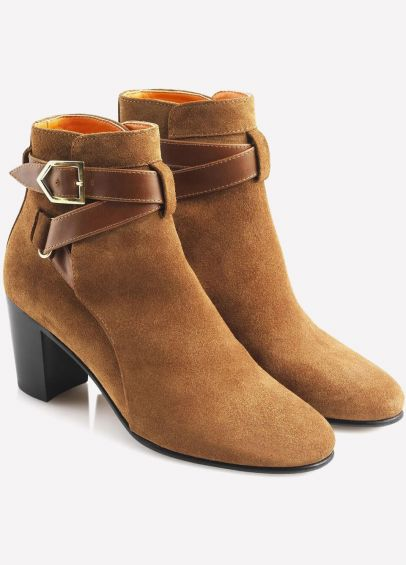 Fairfax & Favor Ladies Kensington Ankle Boots - Tan