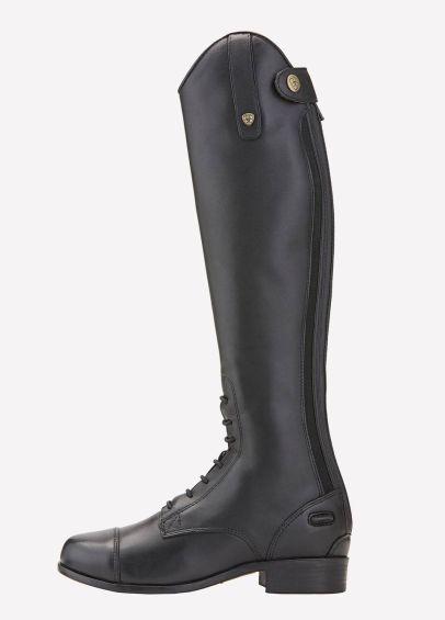 Ariat Junior Heritage Contour Field Zip Tall Riding Boots - Black