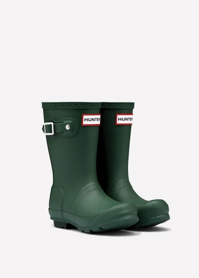 Childs Hunter Wellingtons - Green