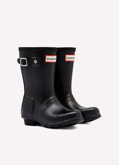 Childs Hunter Wellingtons - Black
