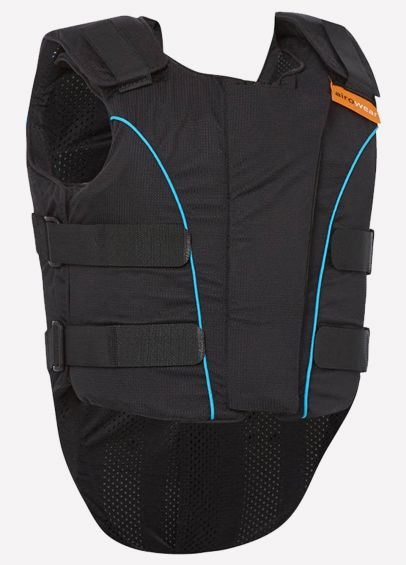 Airowear Junior Outlyne Body Protector - BETA 2018 Level 3 Labelled - Black/Turquoise