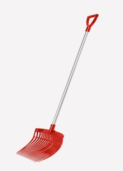 KM Elite Ultimate Shavings Fork - Red