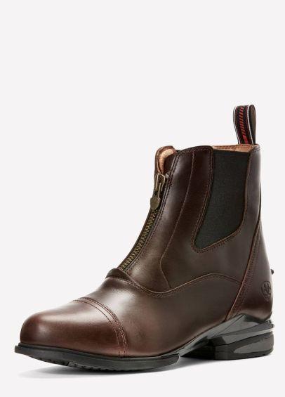 Ariat Ladies Devon Nitro Paddock Boots - Waxed Chocolate