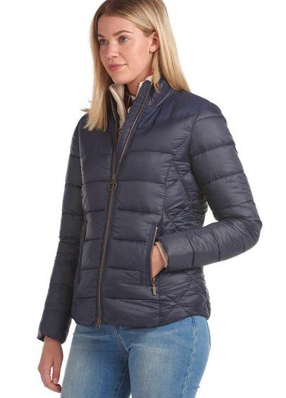 Barbour Ladies Ingham Quilted Jacket - Navy