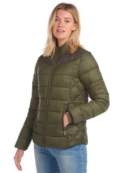 Barbour Ladies Ingham Quilted Jacket - Olive